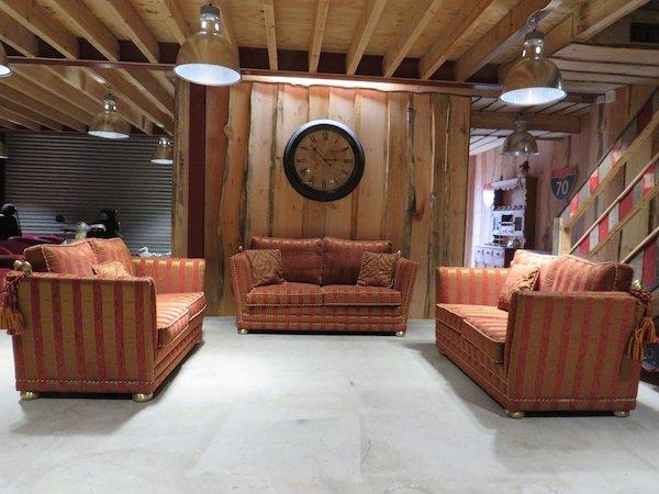 Camas Regal Fabric 3+2+2 Fabric Suite