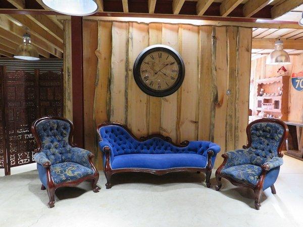 Renaissance Style Parlour Suite